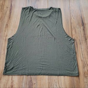 American Eagle Outfitters Tops - ✭3/$25 A&E muscle cut off tank crop top